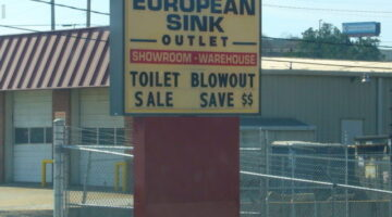 News Flash! Toilet Blowout Sale!