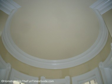 interior ceiling view of this victorian style house