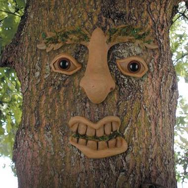 Here's one of the really detailed forest faces that would look great in your yard right?