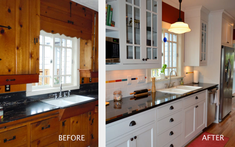 Before After Kitchen Remodel