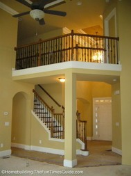 open staircase designs can include a catwalk catwalk to an open room