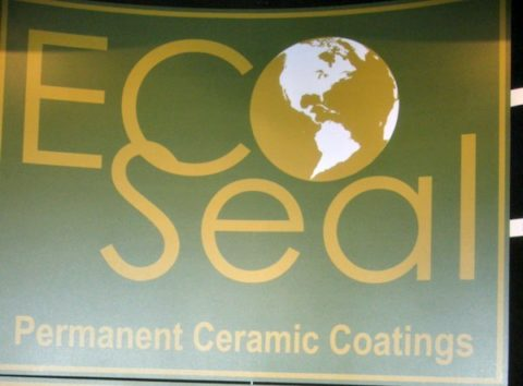 Eco seal is a certified green ceramic coating.