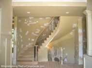 check out the twisted open staircase designs