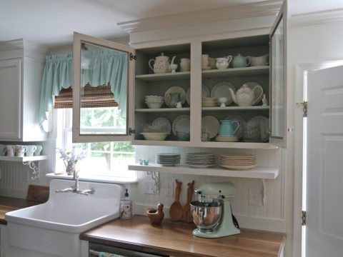 a classic apron front sink or farmhouse kitchen sink