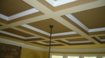 Considering Coffered Ceilings In Your Home? Here's A Coffered Ceiling Photo Gallery Filled With Great Ideas!
