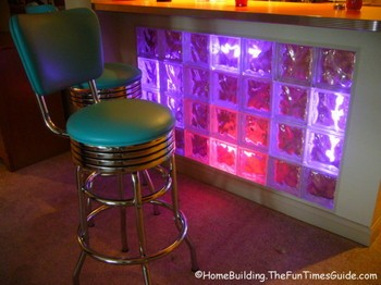 Neon Lit Glass Block Sets The Mood Fun Times Guide To