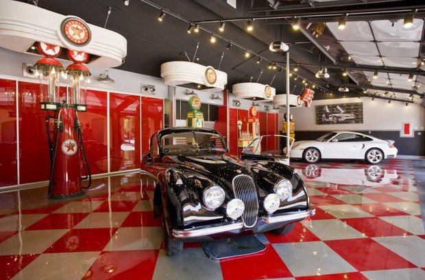 Awesome custom garages 7 one of a kind garages in the u s for Custom home garage