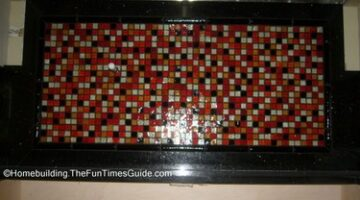 A Fantastic Glass Tile Backsplash Idea: Plus Tips On DIY Installation