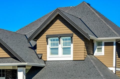 dark roof shingle colors - asphalt shingles