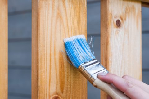 Choosing deck stains depends on the type of wood you're using.