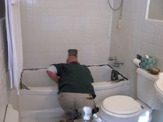 hole bathtub kit services crack before tub fiberglass acrylic repair