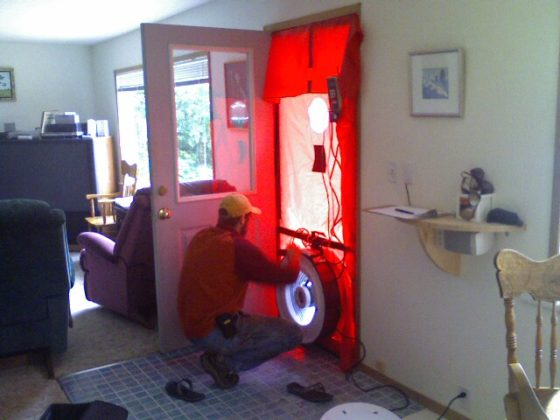 Doing a home energy audit