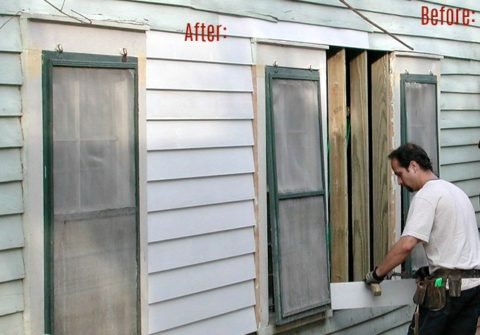 Some forms of home siding are not as easy to DIY as others.