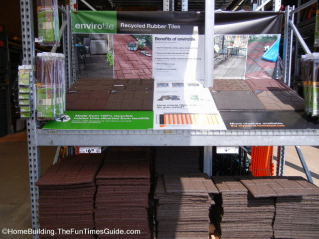 Envirotiles Recycled Rubber Tiles And Rubber Pavers For