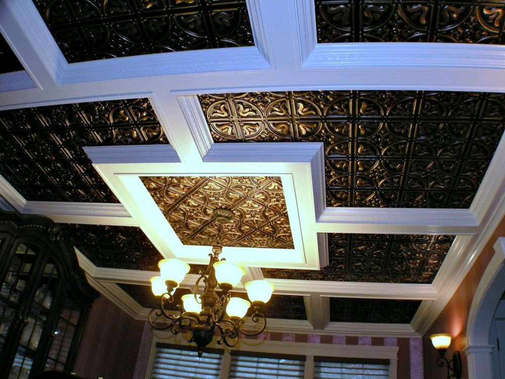 a diy ceiling tiles project how much do tin ceiling tiles cost plus tips for tin ceiling the remodel guide