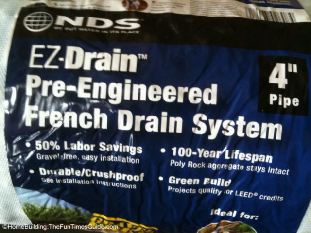 A French Drain System Made Easy With Ezflow Pre Engineered