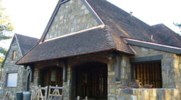 Reclaimed Antique Terra Cotta Roof Tile Installation On This English Cottage Style Home In The Making: Part 6 In A Series