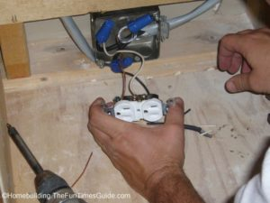 the 110V standard plug for installing a gas stove