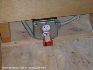 Placement of the new 110 volt outlet is crucial when installing a gas range