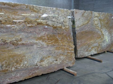 granite slabs before they are made into granite countertops
