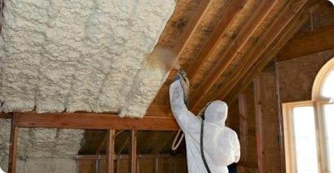 spray foam green insulation - wall insulation