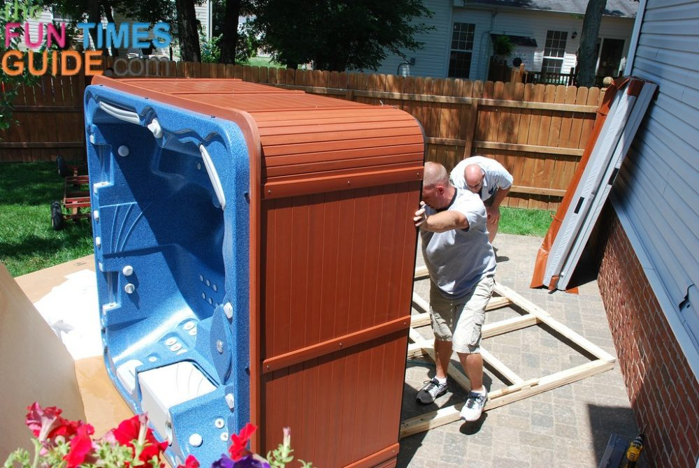 Installing Hot Tub Outside