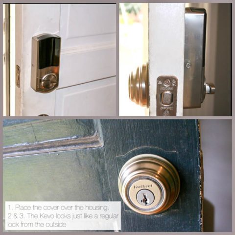 how to install a kevo door lock