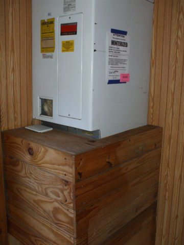kitchen remodel water heater