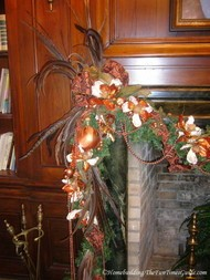 library_fireplace_mantel_Christmas_decoration.JPG