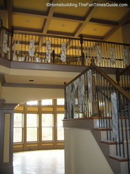 the open staircase designs can include multiple landing such as in this picture