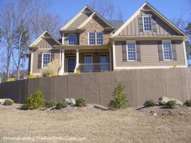 How To Improve The Look Of A Concrete Retaining Wall