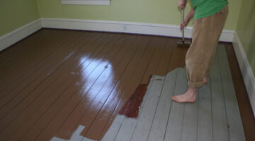 Painted Wood Floors Will Liven Up Your Home: How To DIY