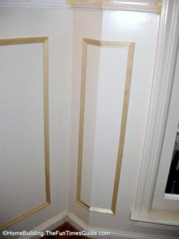 Tips for cutting picture frame moulding near windows
