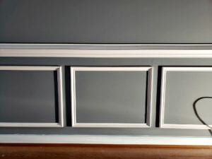 Wainscoting DIY project