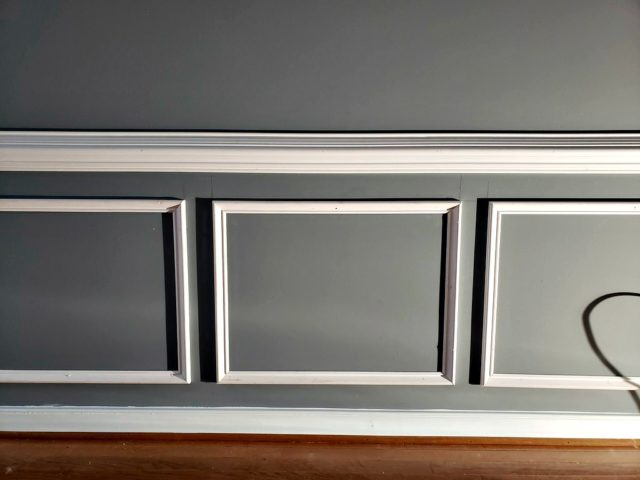 Wainscoting Diy Project Picture Frame Moulding