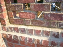 what do you think about this pierced brick wall?