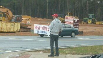 Fewer Sign Twirlers: A Sign Of The Times For The Home Building Industry