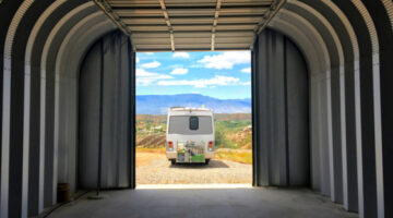 RV Communities: These Neighborhoods Have RV Garage Home Plans For RVers Who Want A Nice Home Too