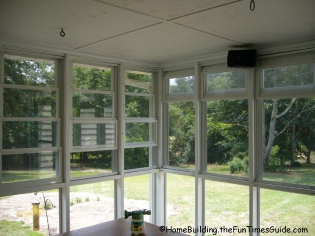 enclosed porch windows floor to ceiling four track windows screened in porch see why eze breeze windows are smart option for screen porch