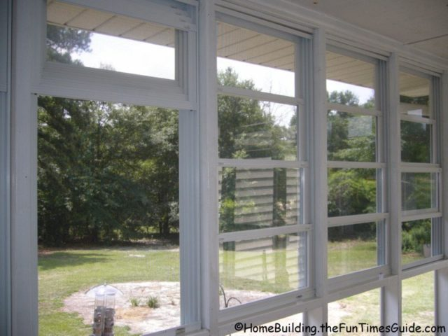 See why eze breeze windows are a smart option for screen for Window options for screened in porch