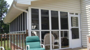 Eze-Breeze Vinyl Screened Porch Windows: A Clear Alternative To Glass Porch Windows