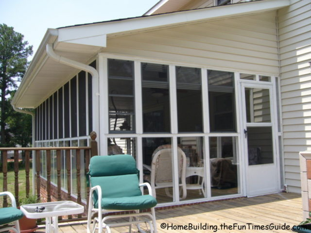 enclosed porch windows house the screened porch with eze breeze windows at my parents house see why eze breeze windows are smart option for screen porch