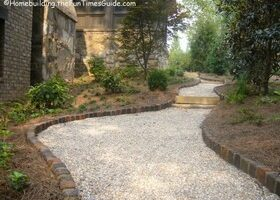 Handmade Bricks Offer Instant Character As Landscape Edging