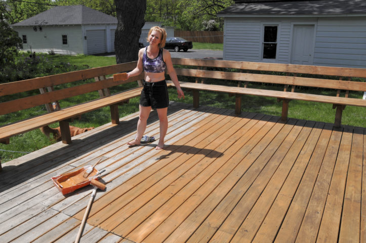 #1 U2013 Stain The Deck