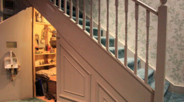 Great Ideas For Storage Under Stairs