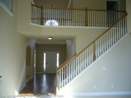 open staircase designs with balusters