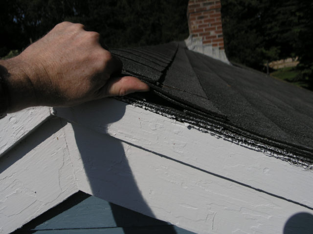 Two Layers Of Roof Shingles