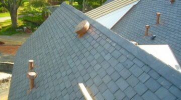 A Victorian Slate Roofing Installation