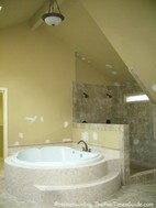 This Master Bathroom Suite Is Large…No…Cavernous!