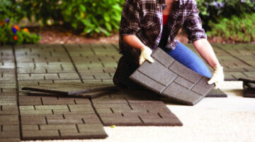 Envirotiles: Recycled Rubber Tiles And Rubber Pavers For DIY Deck & Patio Projects